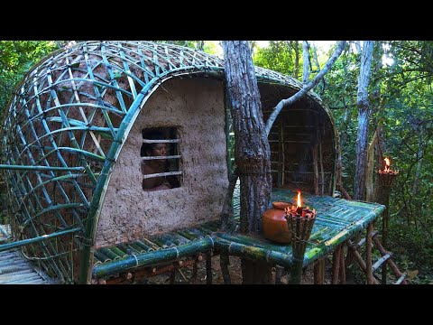 How To Build The Most Story-House Greatness Bamboo House And Bath Pools