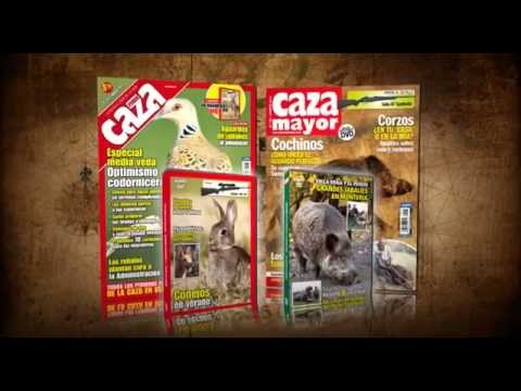 Revistas Federcaza y Caza Mayor de agosto + DVD de regalo