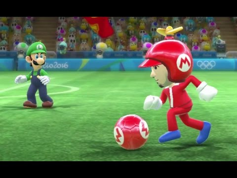 Mario & Sonic at the Rio 2016 Olympic Games – Mario League (Unlocking Gold Mario Costume)