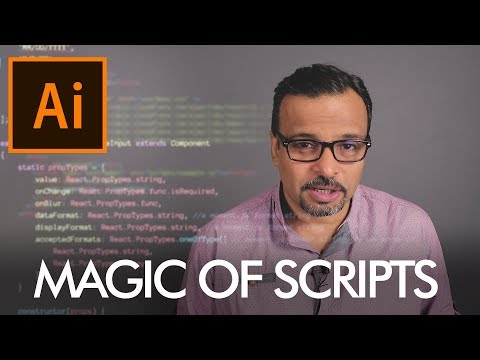 Magic Of Scripts In Adobe Illustrator Urdu / Hindi