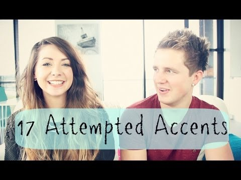 17 Attempted Accents %7C Zoella
