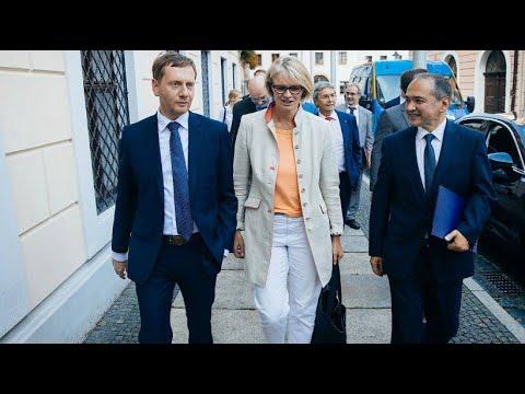 Sachsen: Parteien gemeinsam gegen die AfD - Bündnis m ...