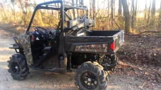 2. Polaris ranger 900 Xp 28 inch outlaw 2/3 inch lift