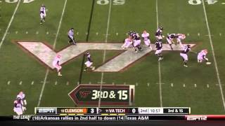 Andre Branch vs Virginia Tech 2011