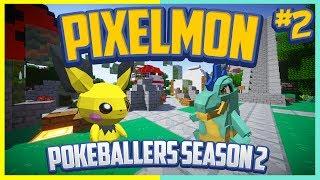 Pixelmon Server Pokeballers Adventure Season 2 Episode 2 - The First Evolution!