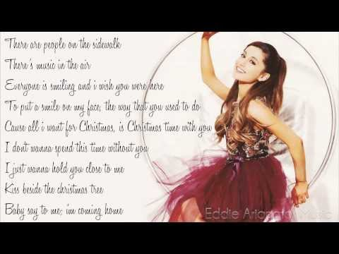 Tekst piosenki Ariana Grande - I Don't Want To Be Alone For Christmas po polsku