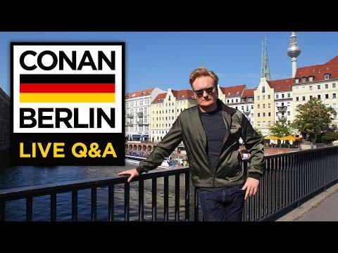 LIVE YouTube Q&A: Conan Berlin (видео)