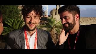 Giancarlo Fontana e Giuseppe Stasi con Metti la nonna in freezer all'Ischia Film Festival 2018