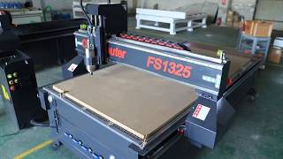 Hot Selling Wood CNC Router FS1325A youtube video