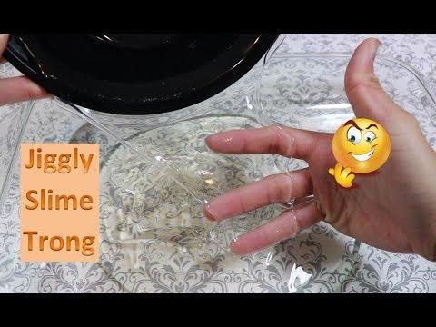 Trải Nghiệm Làm Jiggly SLime Từ Keo Trong II 1 Phần Keo Trong - 3 Phần Nước - Thời lượng: 16 phút.