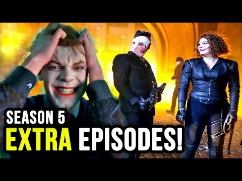 MORE EPISODES and RELEASE DATE Announced for Gotham Season 5!