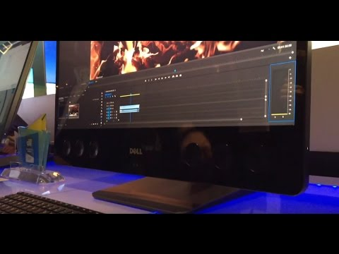 , title : 'CES 2017: Hands On with Dell's new AIO, the Precision 5720'
