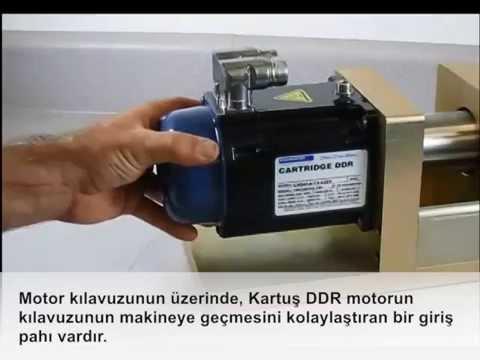 Kollmorgen Cartridge DDR Mounting