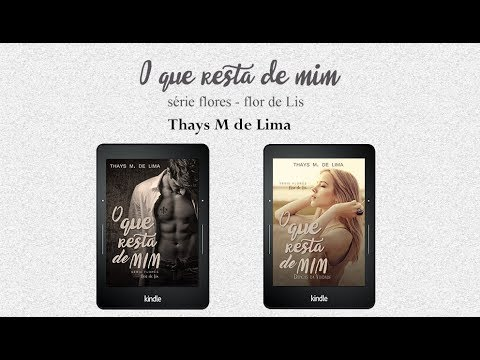 BOOK TRAILER O QUE RESTA DE MIM