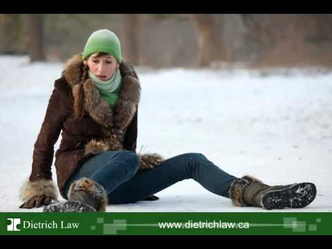 A Slip And A Fall On Ice - Injury - Dietrich Law