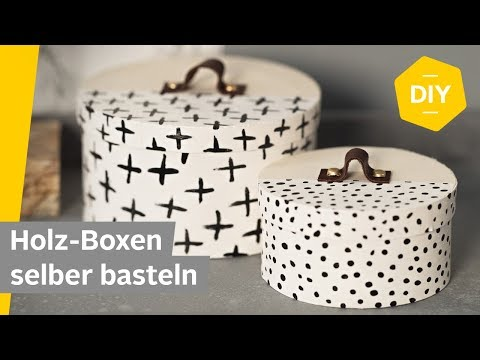 DIY Holz-Boxen mit Ledergriff selber basteln | Roombeez – powered by OTTO