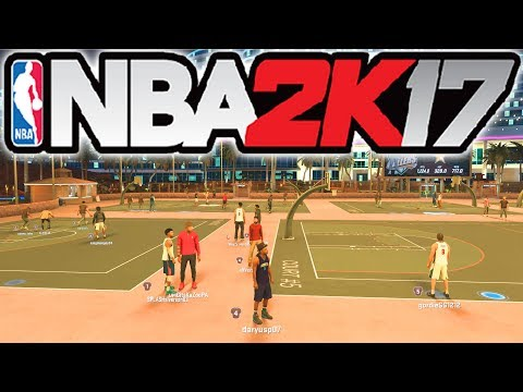 NBA 2K17 MYPARK WIN STREAK!