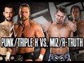 Triple H/CM Punk vs. The Miz/R-Truth at Vengeance 2011 (SvR 2011 Game)
