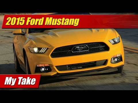 My take: 2015 Ford Mustang inside and out