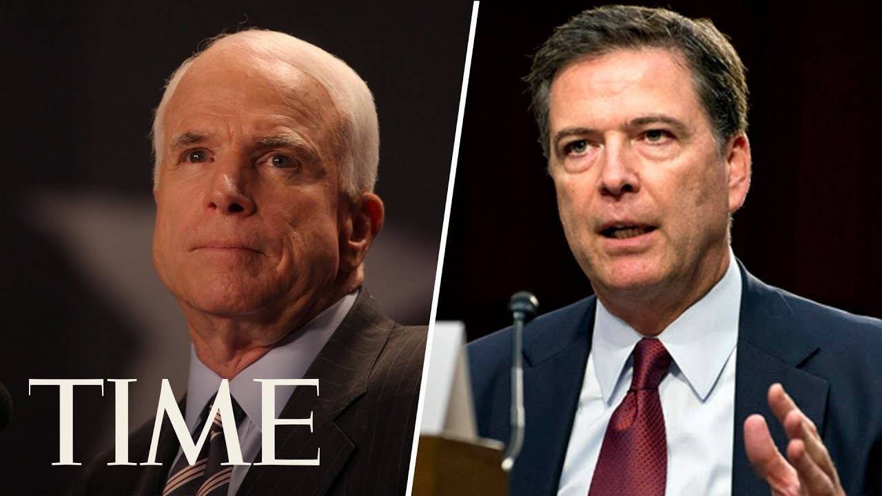 Senator McCain Confuses James Comey And Others With His Questions During The Comey Hearing | TIME