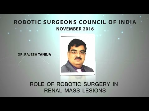 Role of Robotic Surgery in Renal Mass Lesions