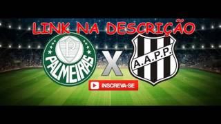 ASSISTIR AO VIVO Palmeiras x Ponte Preta, semi final campeonato paulista, às 19h00 horário de Brasília no dia 22-04-2017 ONLINE, AO VIVO, link do jogo: ...