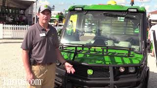 7. New John Deere XUV 835E Full Sized Gator Walkaround at Farm Progress Show