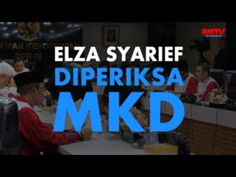 Elza Syarief Diperiksa MKD
