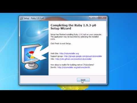 Ruby Programming Tutorial - 1 - Installing Ruby