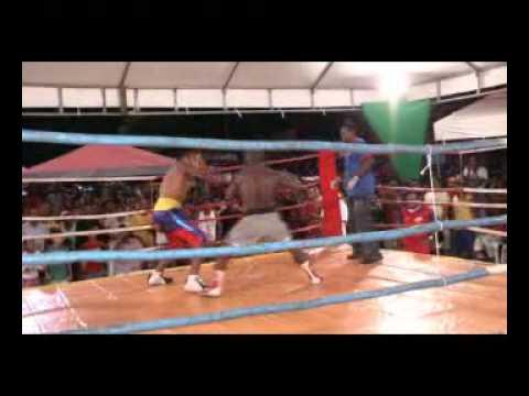 Luta Boxe  Uélington Silva (S.A.Jesus) X Bili Boy (Barreiras)-Santo Antonio de Jesus-2.3