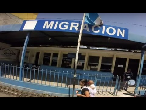 How to cross the border from Mexico into Guatemala