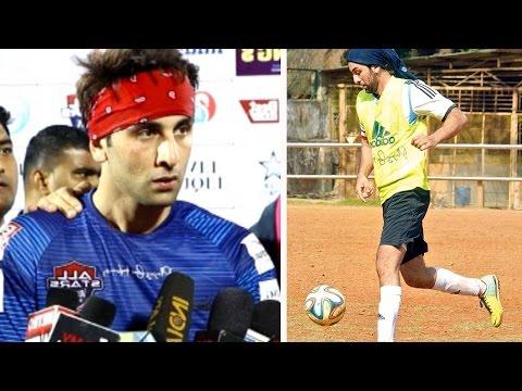 Ranbir Kapoor Talks About His Favourite Sport