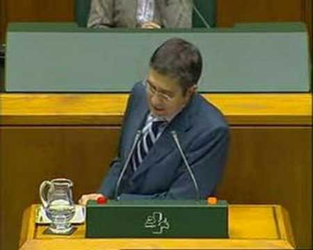 Debate Política General Euskadi 2007 (III)