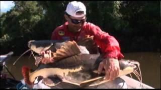 Pescaria De Pirararas E Bons Momentos Da Pesca Trade Show 2011 - Parte - 2