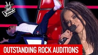 Video THE VOICE | BEST ROCK AUDITIONS [PART 2] MP3, 3GP, MP4, WEBM, AVI, FLV September 2018