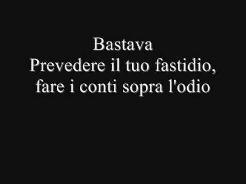 , title : 'Laura Pausini - Bastava - Testo'