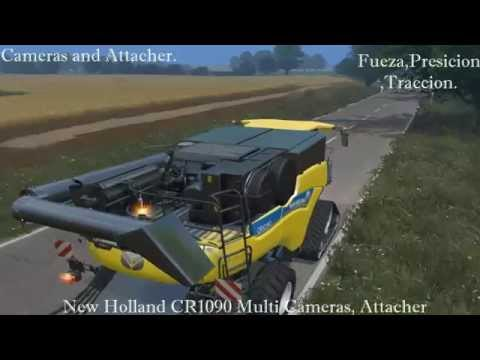 New Holland CR1090 Multi Cameras Attacher v2.0
