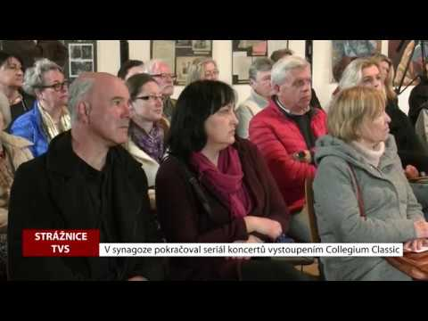 TVS Strážnice - Seriál koncertů v synagoze pokračoval vystoupením Collegium Classic