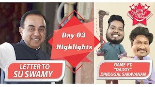Letter To Su Swamy | Settai Night Show | Day 03 Highlights | Biggest Show of Smile Settai