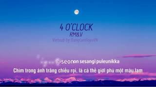 Video [Vietsub] 4 O'clock (네시) - RM & V MP3, 3GP, MP4, WEBM, AVI, FLV Agustus 2018