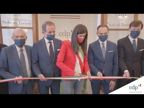 Inaugurazione nuova sede territoriale CDP Torino