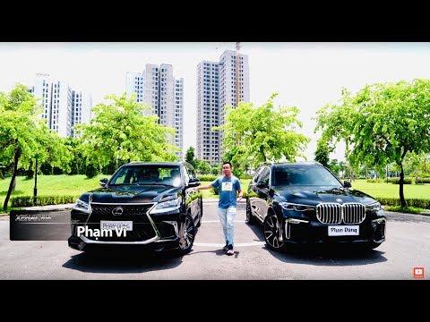 Lexus LX570 2019 hay BMW X7 2019 nên lựa chọn chiếc SUV hạng sang cao cấp nào tại Việt Nam? @ vcloz.com