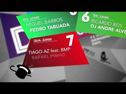 Promo - Cartaz Tenda Discoteca | Queima das Fitas do Porto 2014