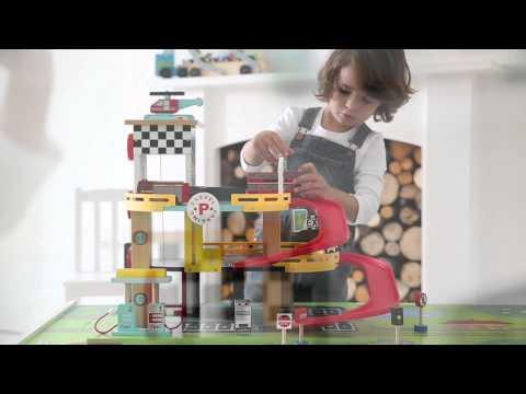 Pitstop Toy Garage