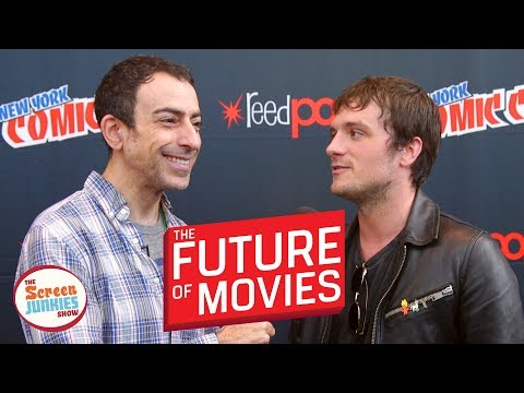 The Future of Movies (Josh Hutcherson and the cast of Hulu's Future Man)