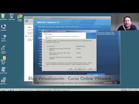 ¿Como instalar VMware vSphere 5.x y Web Client? Parte I