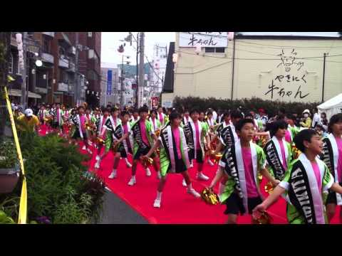 尾道みなと祭り栗原北小学校チーム