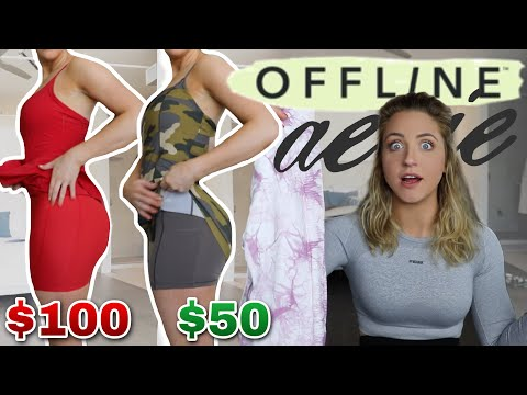 NEW Aerie Offline Collection is DUPE HEAVEN! $30 Leggings