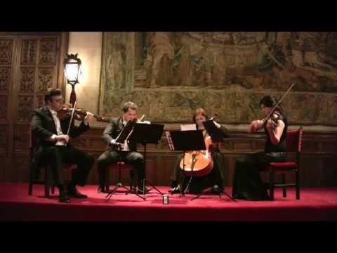"""Cuarteto Petrus Haydn op.76 D minor """"Fifths""""- 1er.mov..flv"""