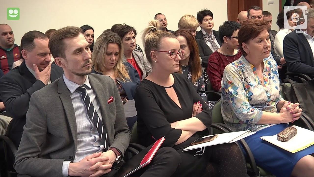 Sesja Powiatu Kolskiego - marzec 2018